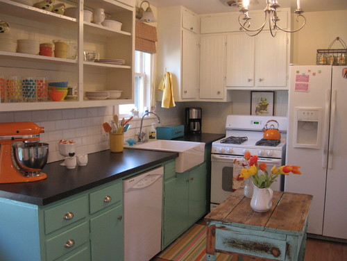 Eclectic Kitchen design by LeAnn Huntington