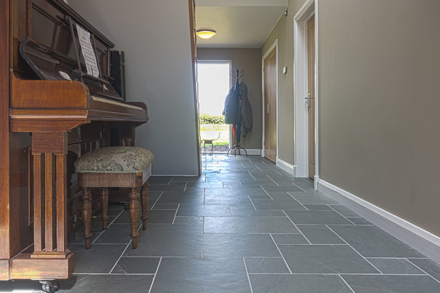 Slate Floor Hallway Traditional Other By Mrs Stone Store