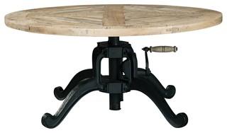 Coaster Scott Living Wildon Round Coffee Table, Natural 705528