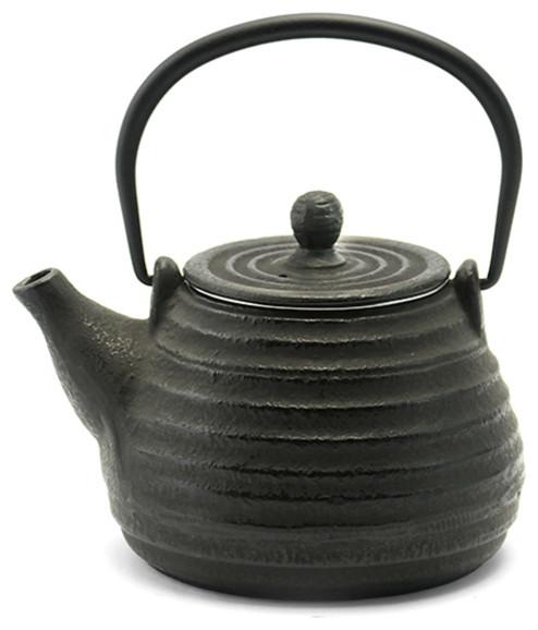 Rikyu Hive Cast Iron Teapot Black
