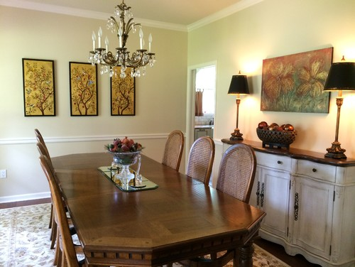 dining room update!