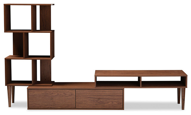 Davenport Entertainment Center, Walnut Brown.