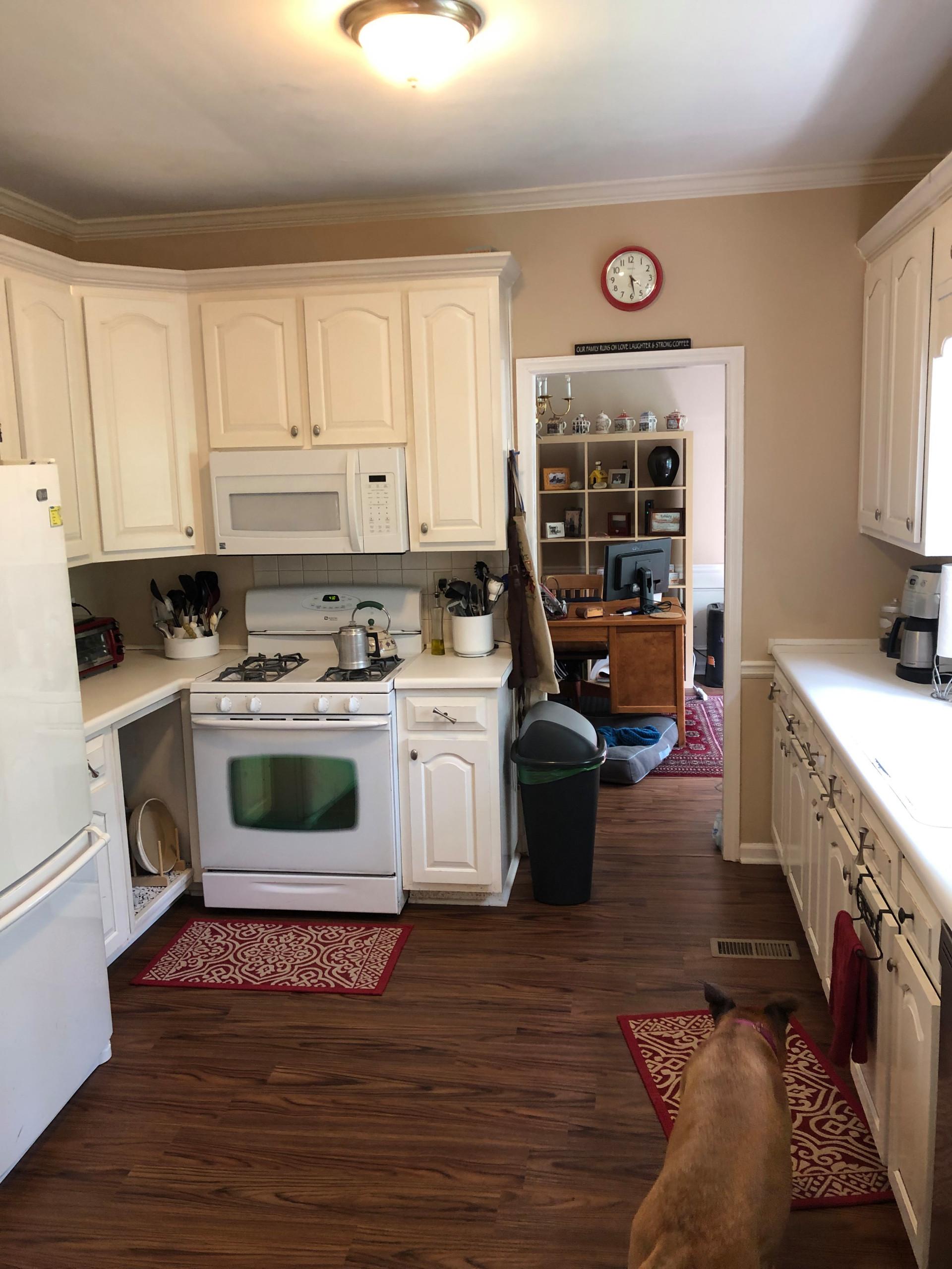 Transitional Fresh Marietta Kitchen