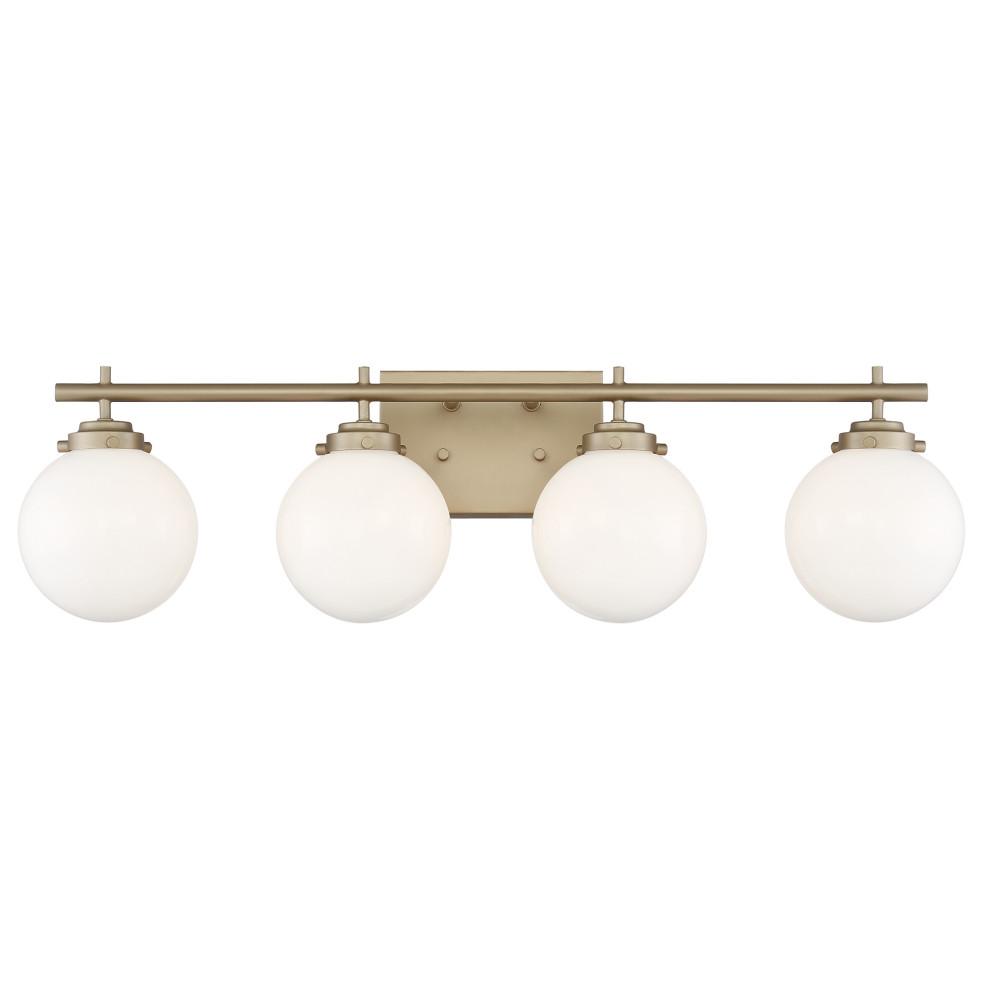 Vanity Art Globe 4 Light Vanity Fixture Contemporary Bathroom Vanity Lighting By Vanity Art Llc
