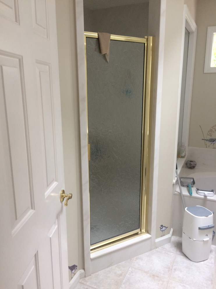 Outdated Master Shower