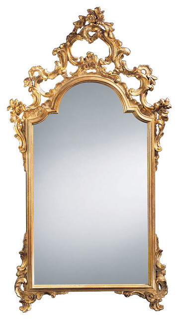 Italian Gold Leaf Mirror Victorian Wall Mirrors By Inviting