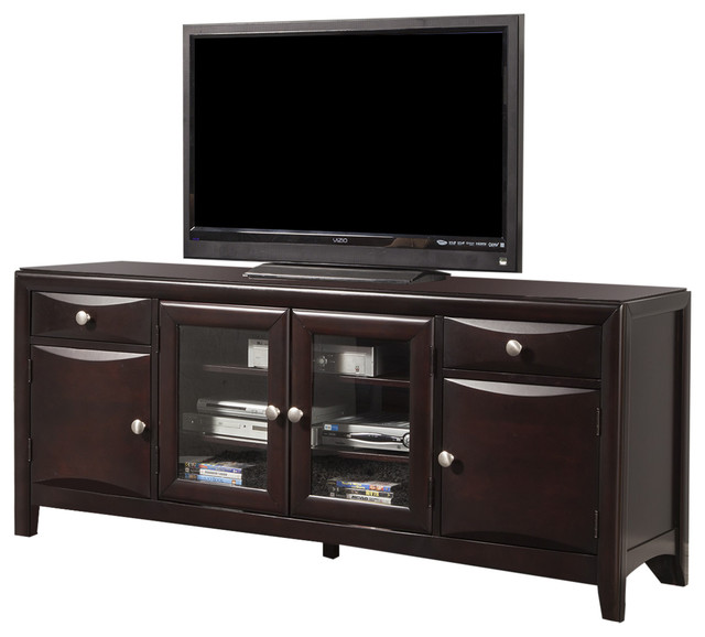 Alpine Laguna TV Console - Transitional - Entertainment Centers And Tv Stands - by Harvey & Haley
