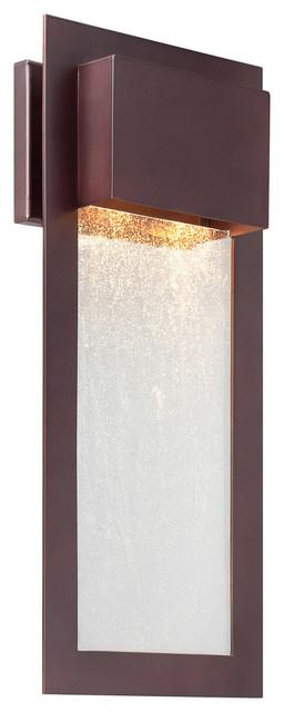 Westgate 2-Light Outdoor Wall Lights, Alder Bronze.