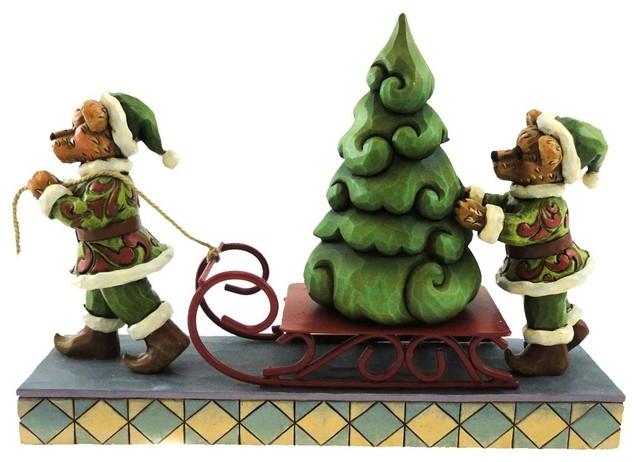 Boyds Bears Resin Jingle And Jangle Oh Christmas Christmas Jim Shore 4022303.