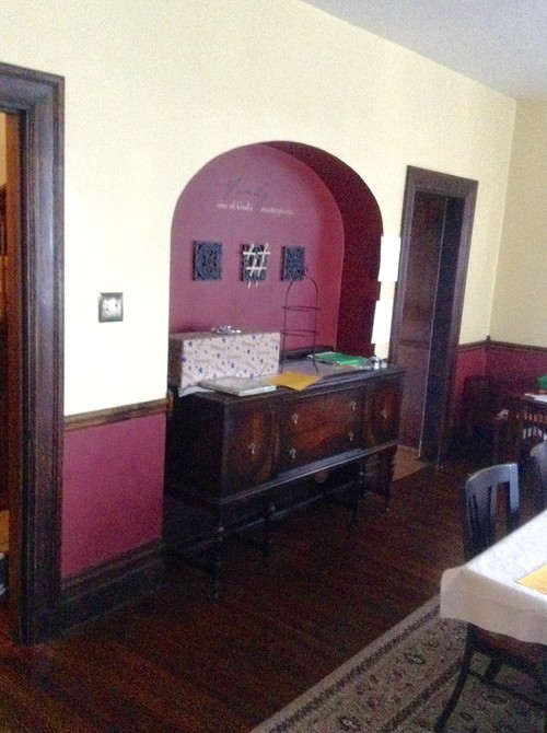 Moving Kitchen To Dining Room In 1904 Home