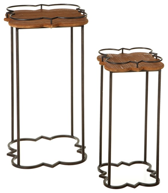 Beecher Nested Side Tables Set of 2 Contemporary Side  : contemporary side tables and end tables from www.houzz.com size 558 x 640 jpeg 47kB