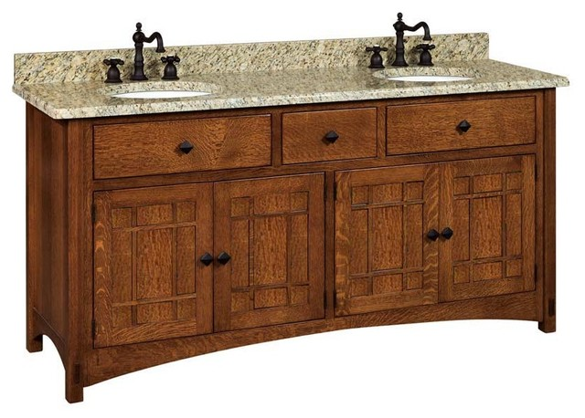 Shop Houzz Amish Showroom Springhill Bathroom Vanity Bathroom Vanities And Sink Consoles
