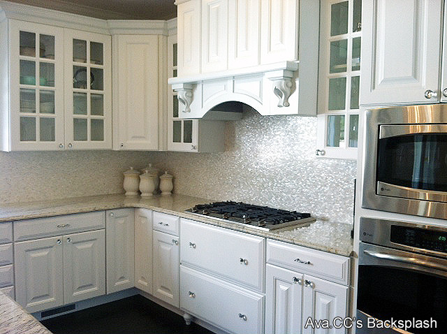 ... pearl tiles for kitchen backsplash & bathroom wall traditional-kitchen