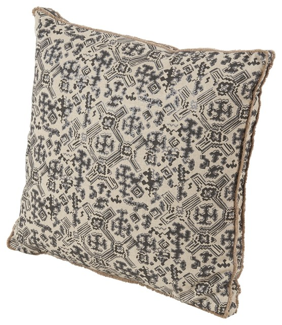 Traditional Throw Pillows : Nomad Pillow - Traditional - Decorative Pillows - by BSEID