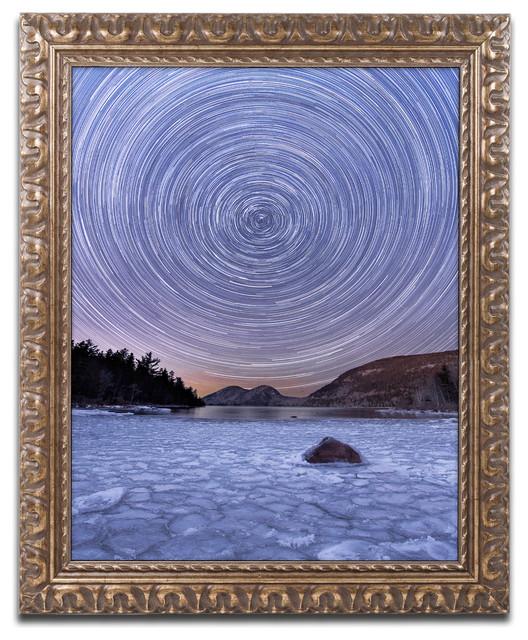 Michael Blanchette Photography 'Circles & Bubbles' Ornate Framed Art, 16x20 by Trademark Fine Art