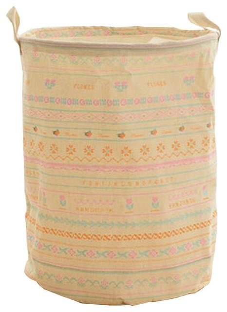 Foldable Laundry Bag Fashionable Style Essentials Household Laundry Basket Lace.