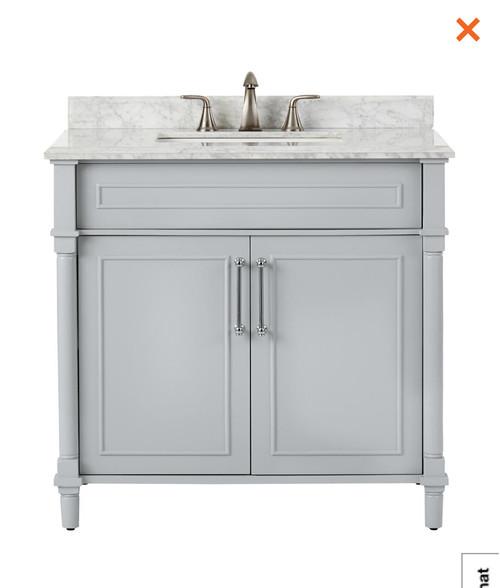 light gray bathroom vanity.  White Vs Light Gray Bathroom Vanity