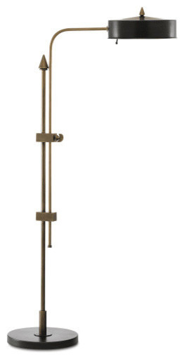 Currey And Company 8000-0023 Abram Floor Lamp.