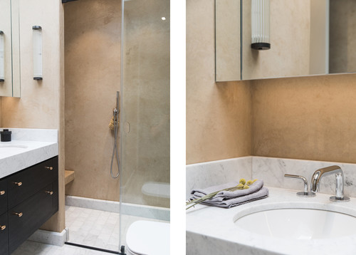 Atmospheric bathroom in north london apartment for Bathroom design north london