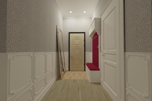 Положить ламинат в коридоре 278