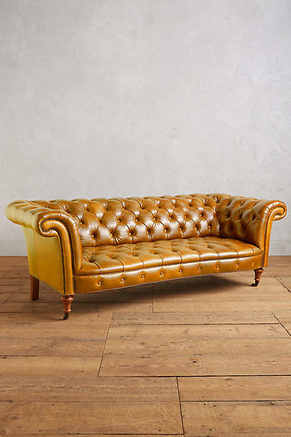 Full Grain Leather Chesterfield Sofas?