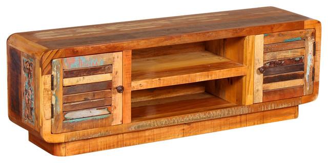 VidaXL Solid Reclaimed Wood TV Cabinet, 120x30x40 cm