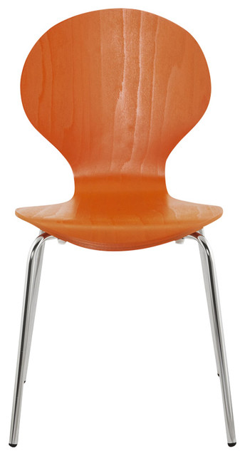 Perry Dining Chair, Orange