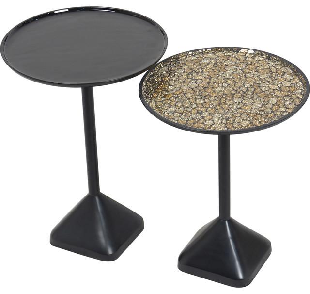 Rawdon Cast Aluminum Enamel And Mosaic Tables.