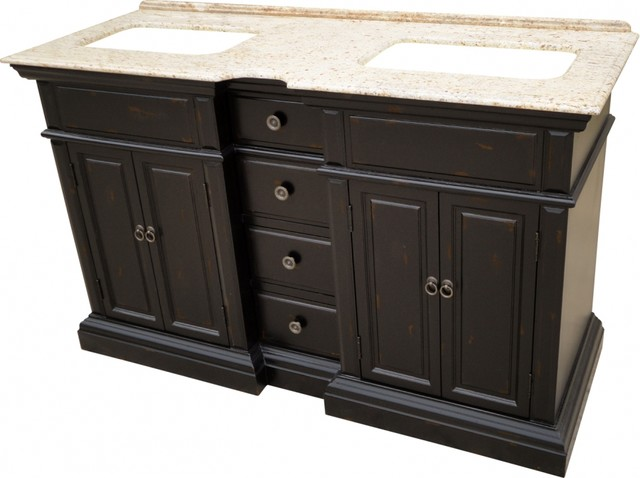 shop houzz l k designs 25 inch transitional single sink