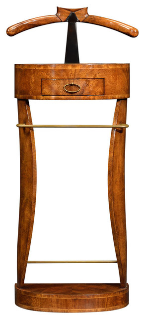 Jonathan Charles Valet Stand With Collar and Tie