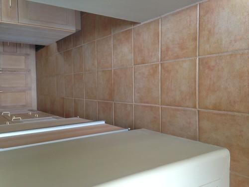 Pinkish Orange Cream Floor Tiles Amp Whitewash What To