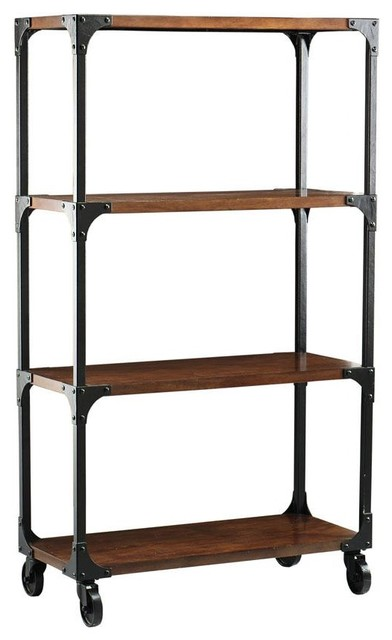 Industrial empire bookcase eclectic bookcases by for Home decorators bookcase