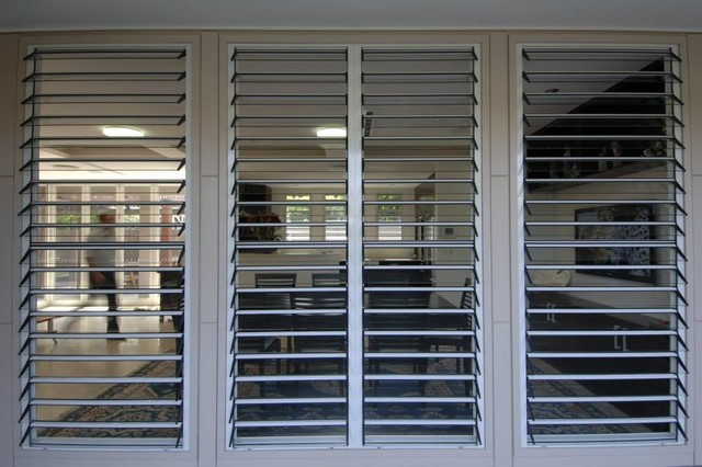 Aluminum Glass Louvered Windows Modern Other By Steven Z
