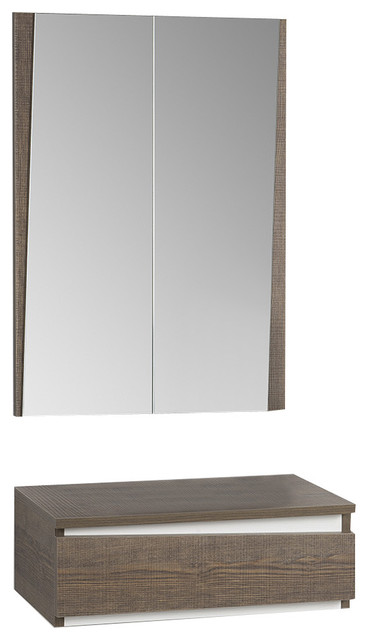 Tundra 2-Piece Console and Mirror Set