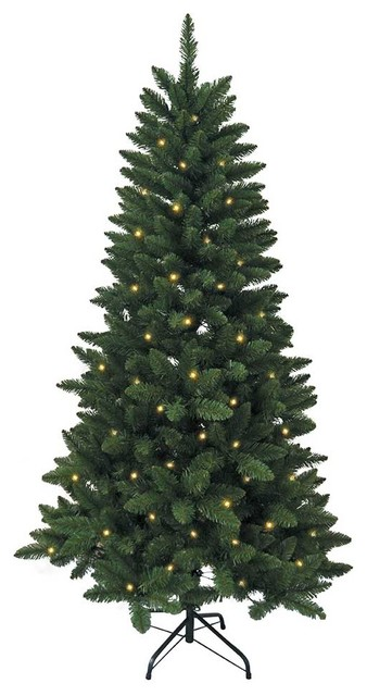 promo code 29023 b1116 6-Foot Pre-Lit LED Green Pine Tree