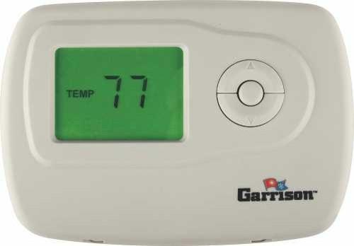 garrison digital thermostat 1 stage heat cool non programmable rh houzz com garrison programmable thermostat manual garrison 7 day thermostat manual