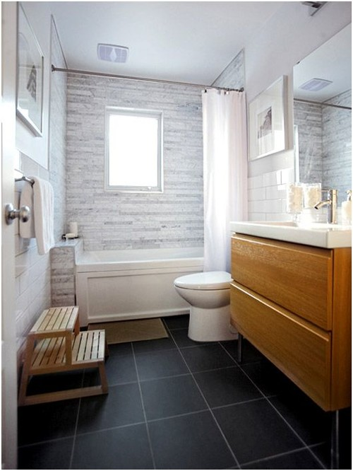 bathroom tile height dilemma - Bathroom Tiles Height