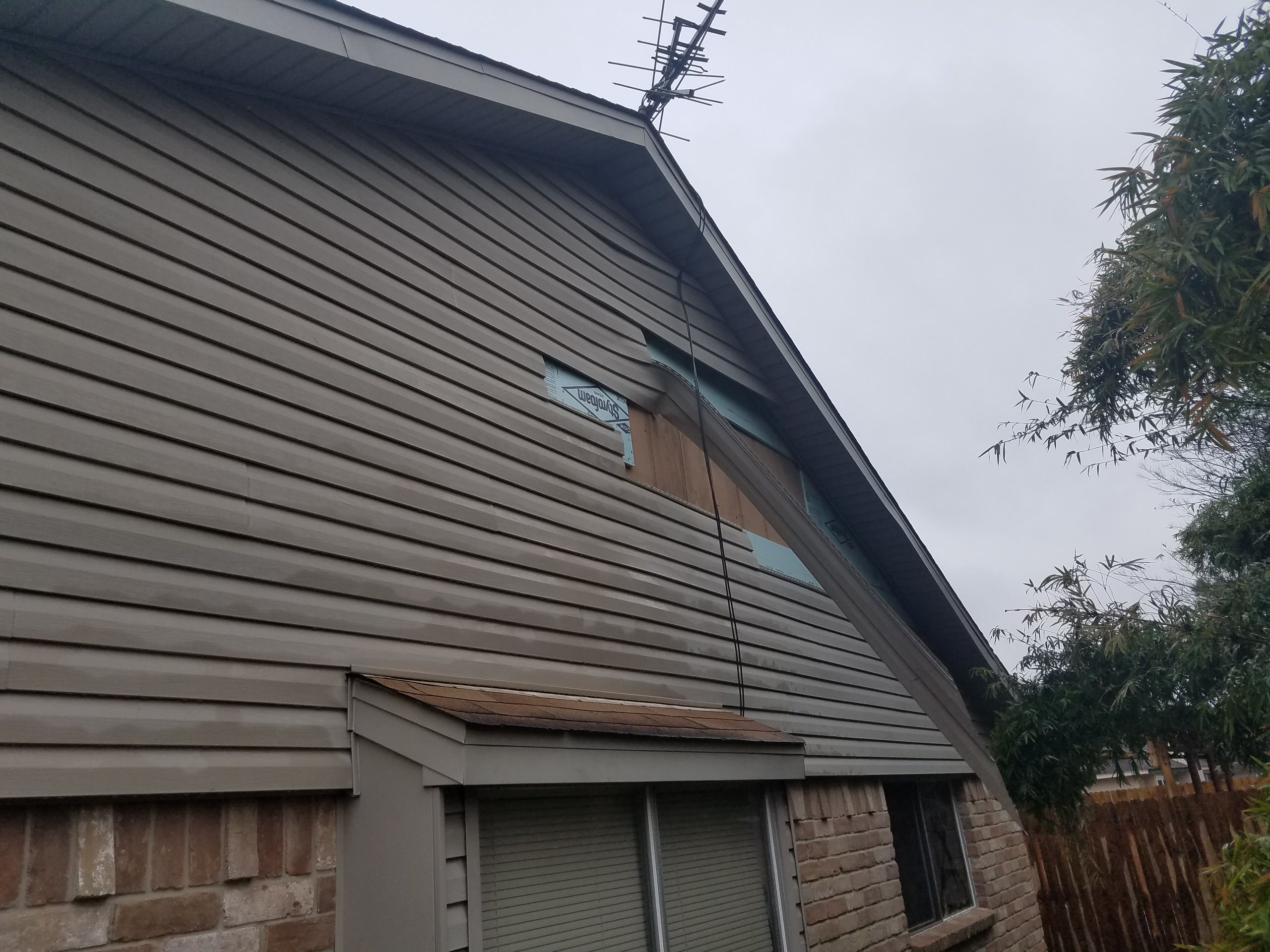 Roof and Siding
