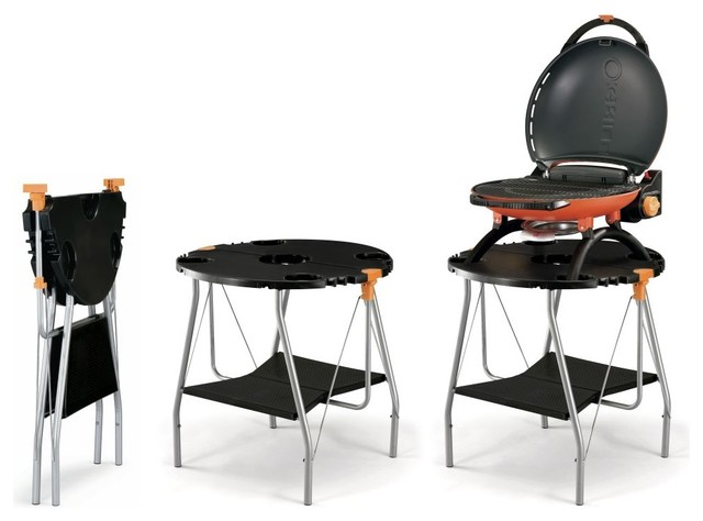 O-Grill Foldable Compact Table/Docking Station - Contemporary ...