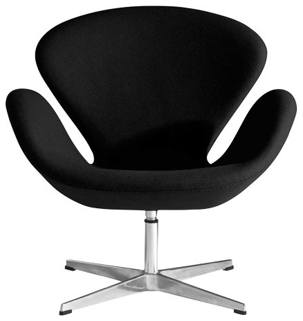 Baltimore Side Arm Chair, Black
