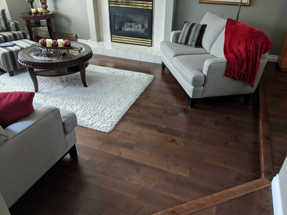 Flooring In a Furnished Space