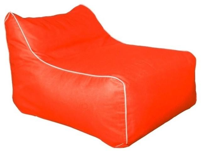 Brilliant Outdoor Indoor Sunbrella Kids Bean Bag Lounger Melon Frankydiablos Diy Chair Ideas Frankydiabloscom