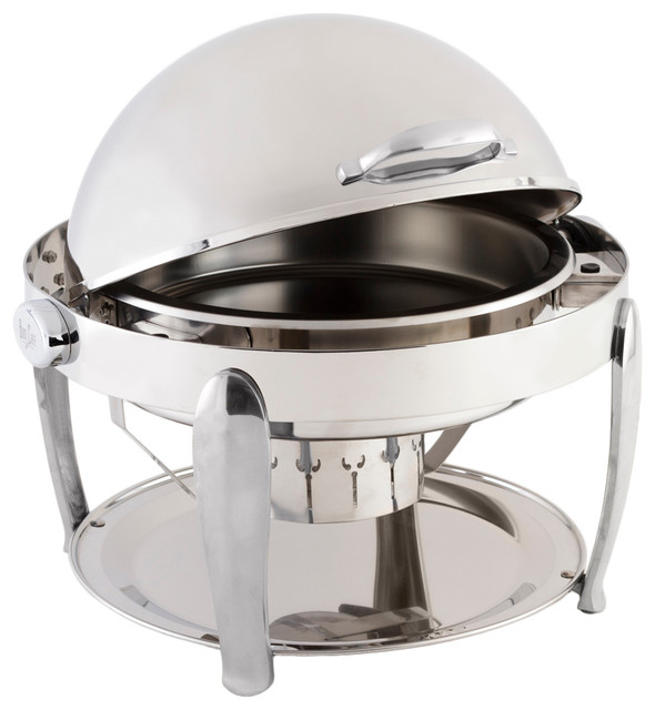 Manhattan Non, Dripless Round Chafer With Vented Lid.