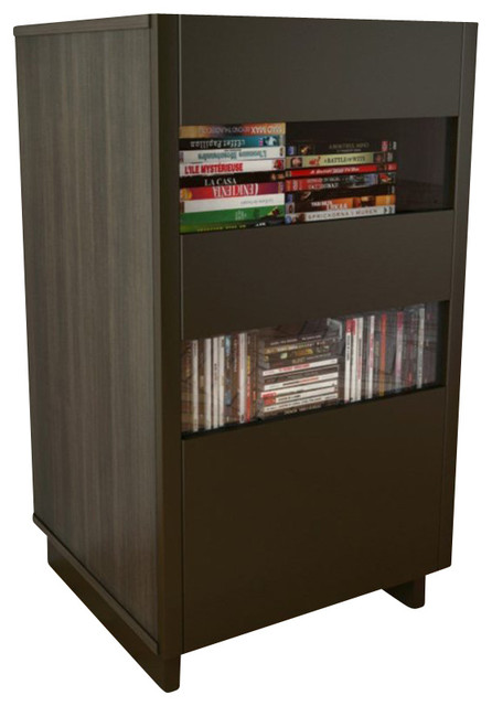 Nexera Nuance Audio Tower in Espresso - Transitional - Media Cabinets - by Homesquare