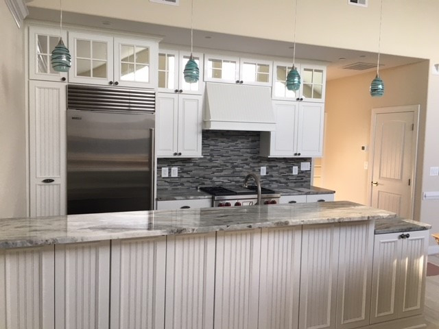 Beach Living- Kitchen, frontal view