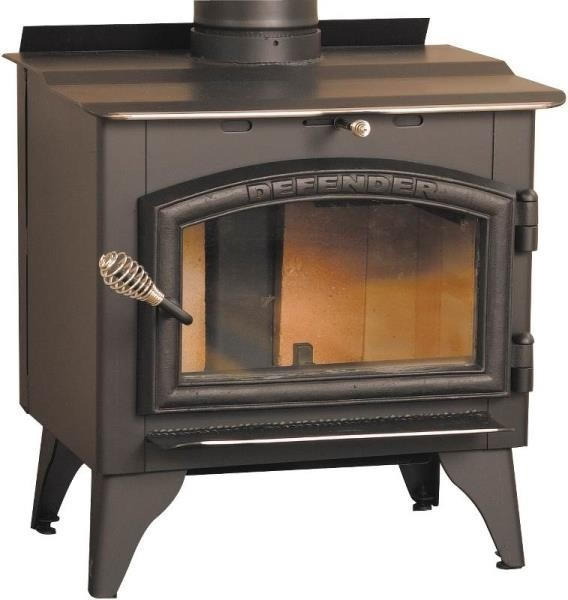 Vogelzang Defender Wood Stove-Epa-Blower.