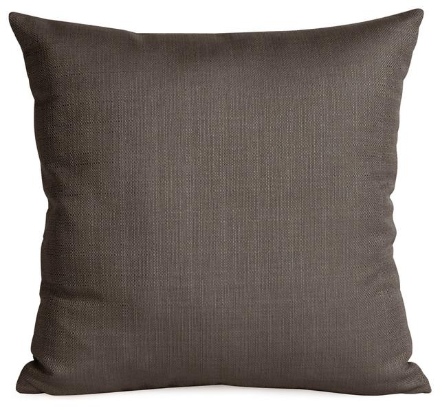 Howard Elliott Sterling Pillow, Charcoal, Polyester Insert.