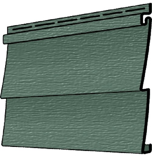 Trim Accents For Forest Green Siding