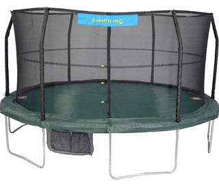 Green and Black Tr&oline  sc 1 st  Houzz & JumpKing - Trampoline Canopy Cover Tree House - View in Your Room ...