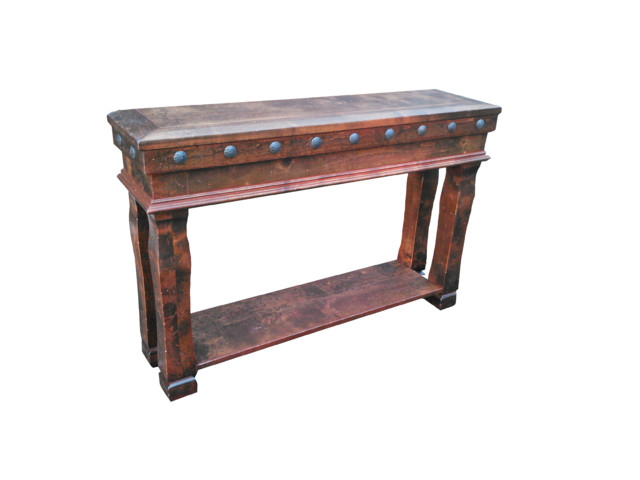 Durango sofa table rustic side tables and end tables Sofa side table